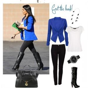 mavi-blazer-ceket-kombinleri