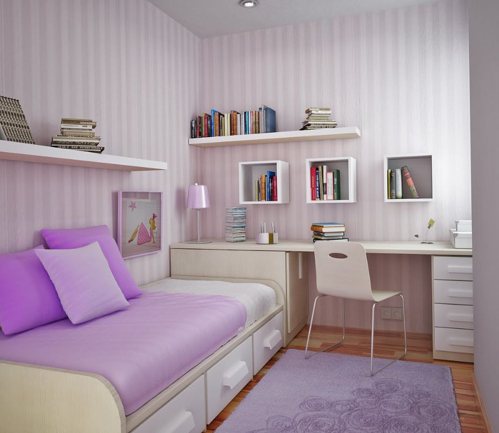 küçük odalar için dekorasyon fikirleri